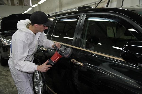 Профессиональная полировка авто